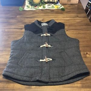 Charcoal grey Vest by Vanity